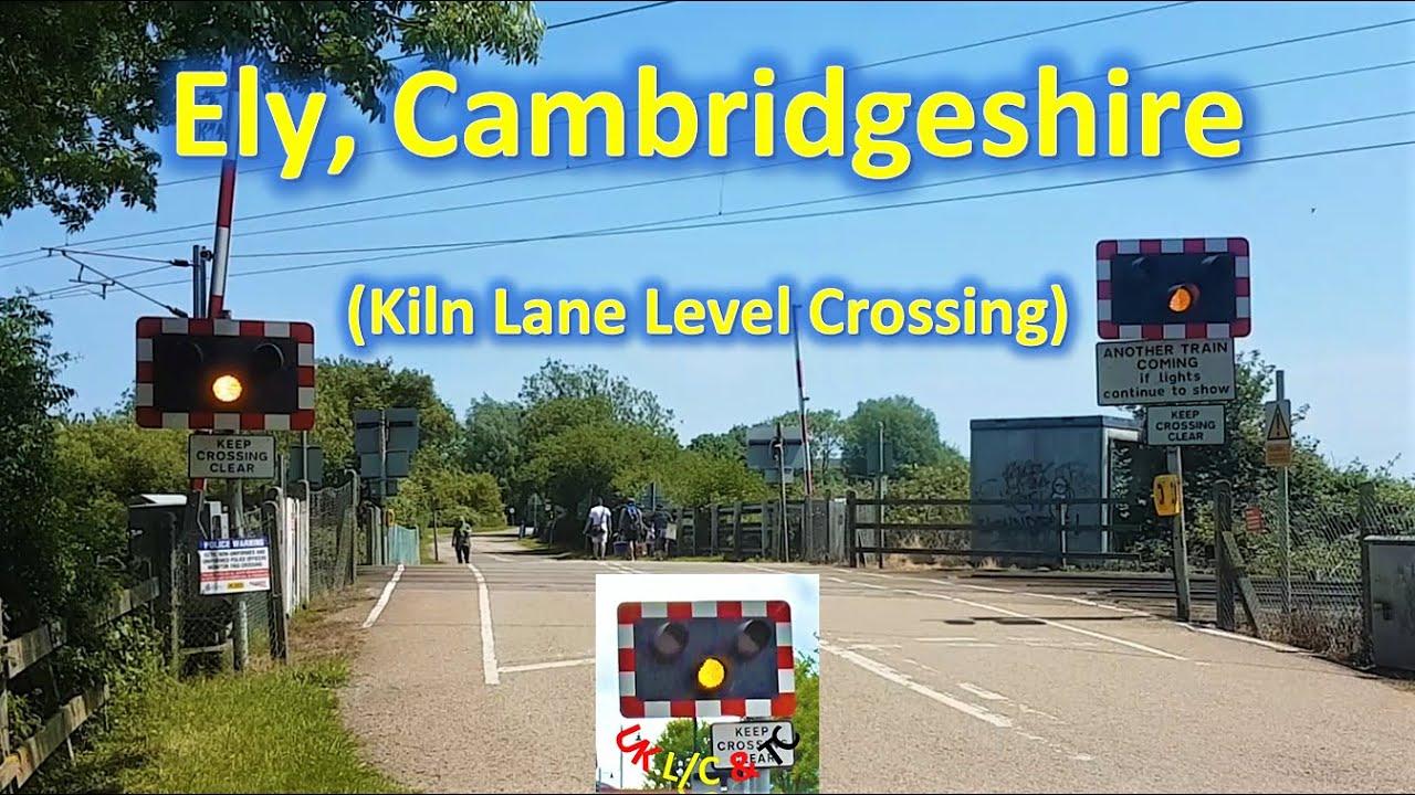 (Ely) Kiln Lane Level Crossing, Cambridgeshire