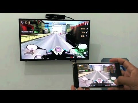 How to display the mobile screen to LED TV