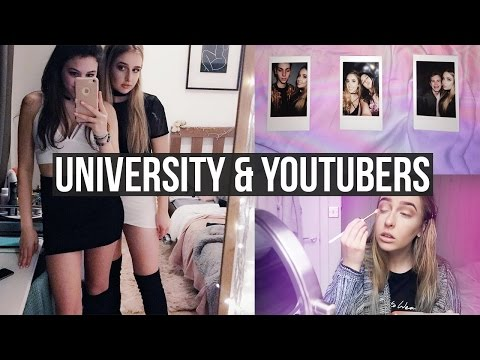 UNIVERSITY WORK & YOUTUBERS | WEEK IN MY LIFE