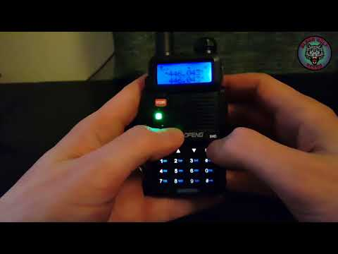Programming the Baofeng UV-5R Radio for PMR 446 and CTCSS
