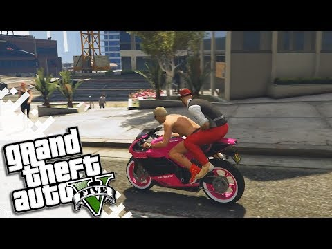 GTA V Fun With Friends! (Grand Theft Auto 5 Gameplay Video)