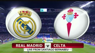 Real madrid vs celta de vigo live!!! ⚽