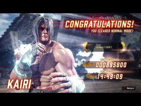 Fighting EX Layer - Kairi Arcade Mode Playthrough