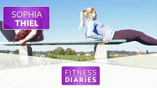 Workout vor der morgendlichen Smoothie Bowl | Sophia Thiel | Folge 15 | Fitness Diaries