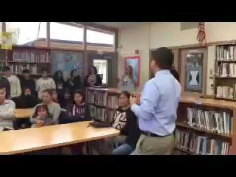 Seaside Middle School students receive Chromebooks