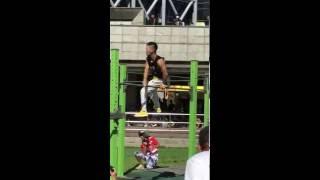 2016街頭健身世界盃比賽台灣高雄站第一回合我的個人秀