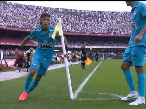 Paulistão 2012 - Semi Final - São Paulo 1 x 3 Santos - Neymar fez três