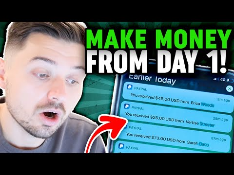 How To Make Money On Your FIRST DAY DROPSHIPPING!! (New Beginner Friendly Strategy) thumbnail