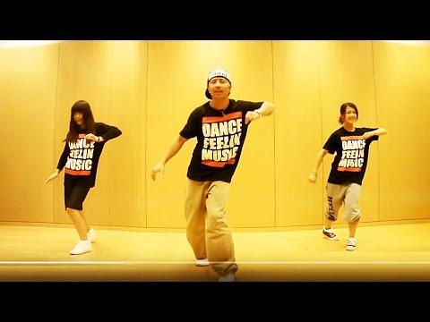 ヒップホップダンス練習用ビデオ 初心者向け簡単な振り付けレッスン
