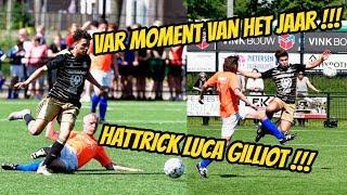 Hattrick Luca, Nesim en Vincent woedend op scheids, VAR moment van het jaar !!!