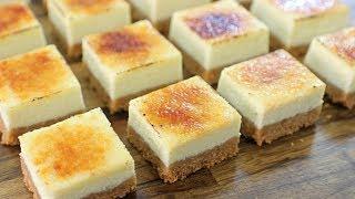 Crème Brûlée cheesecake Bars recipe