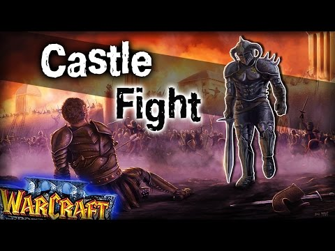 видео: warcraft 3 frozen throne - Карта castle fight v1.25a! [МЫ ПОДЕБИЛИ?]