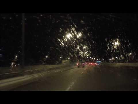 Driving  In Ottawa, Ontario, Canada