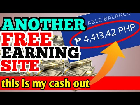 I GOT FREE P4,413 MONTHLY INCOME FROM FREE EARNING SITE   NO INVESTMENT   LEGIT TALAGA