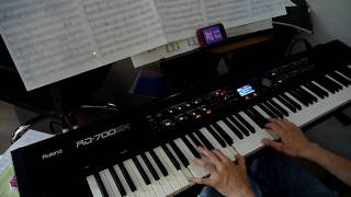 Iron Maiden Fear Of The Dark Piano Cover HD