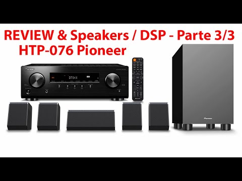 Review & Speakers 3.2.1 Vs 5.1 Home Theater Pioneer HTP-076 (Receiver VSX-326) - Parte 1/3  PT-BR