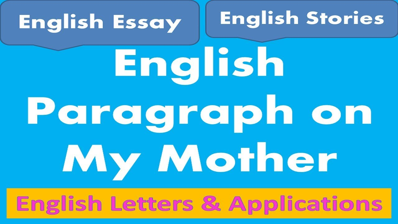 Essay Writing Examples For High School  High School Personal Statement Sample Essays also Free Essay How To Write A Paragraph On My Mother English Learning Essay