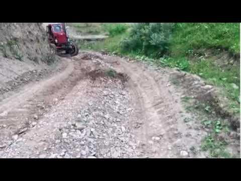 Синий трактор Трактор Беларус 1221 на бездорожье  МТЗ 52 Т 40 Off Road Tractor #8
