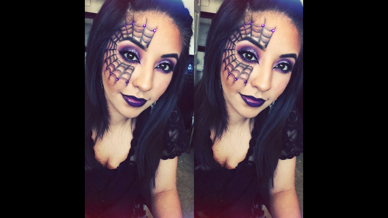 Easy Spider-Web Halloween Tutorial - YouTube