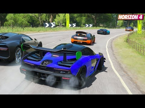 Forza Horizon 4 – McLaren Senna | Goliath Gameplay