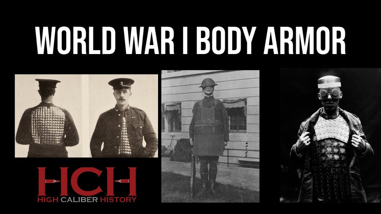 Body Armor in WWI