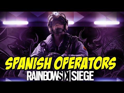 Rainbow Six Siege Gameplay [Spanish Operators in Descriptions Jackal] RANKED Spain Velvet  Shell