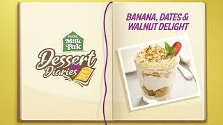 Dessert Diaries Recipe 8 | Banana, Dates & Walnut Delight