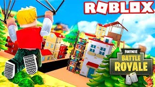 PLAYING FORTNITE on ROBLOX!