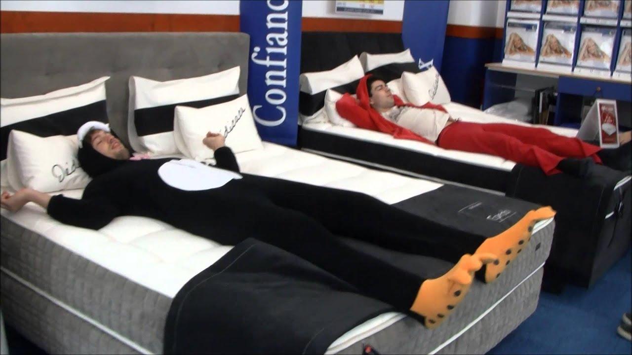 d fi n 3 rentrer en pyjama et dormir dans un magasin de literie par tabascaen youtube. Black Bedroom Furniture Sets. Home Design Ideas