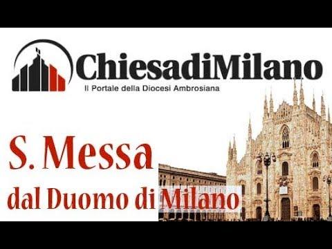 S.Messa delle ore 8,00 dal Duomo di Milano