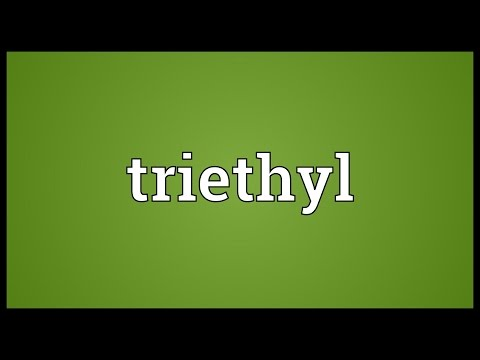 Header of triethyl