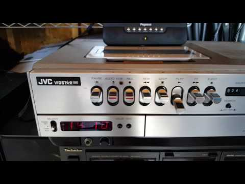 Vintage JVC-HR-330U  The world's first VHS-based VCR 1977 - TEST