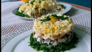 Orlando Meat Salad Мясной Салат Орландо из говяжьего языка