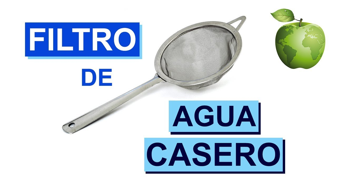 Filtro de Agua Casero con Carbón Vegetal