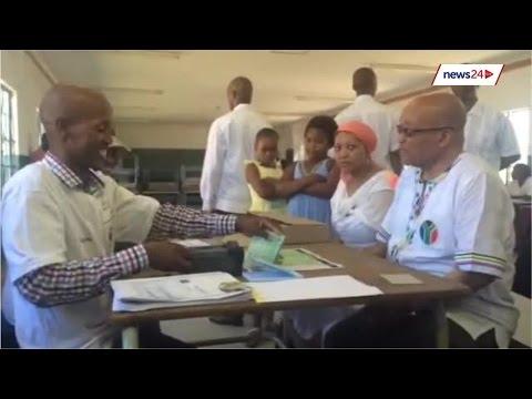 Registration a family affair for Zuma in Nkandla