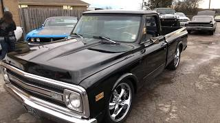 Test drive , 1970 c-10 Black , Maple Motors