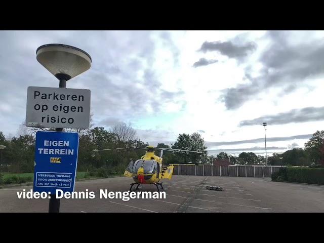 Traumahelikopter ingezet bij ongeval in Reutum
