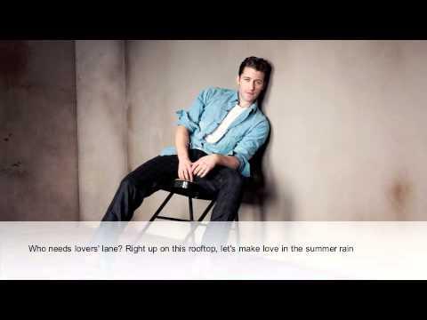 Matthew Morrison - Summer Rain (Lyric Video)