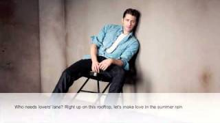 Matthew Morrison - Summer Rain (Lyric Video)