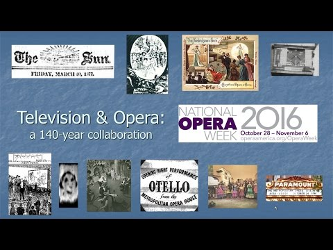 Television & Opera: A 140-Year Collaboration by Mark Schubin