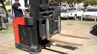 Electric Forklift Double Deep Reach Truck with Reach Tilt and Side Shift
