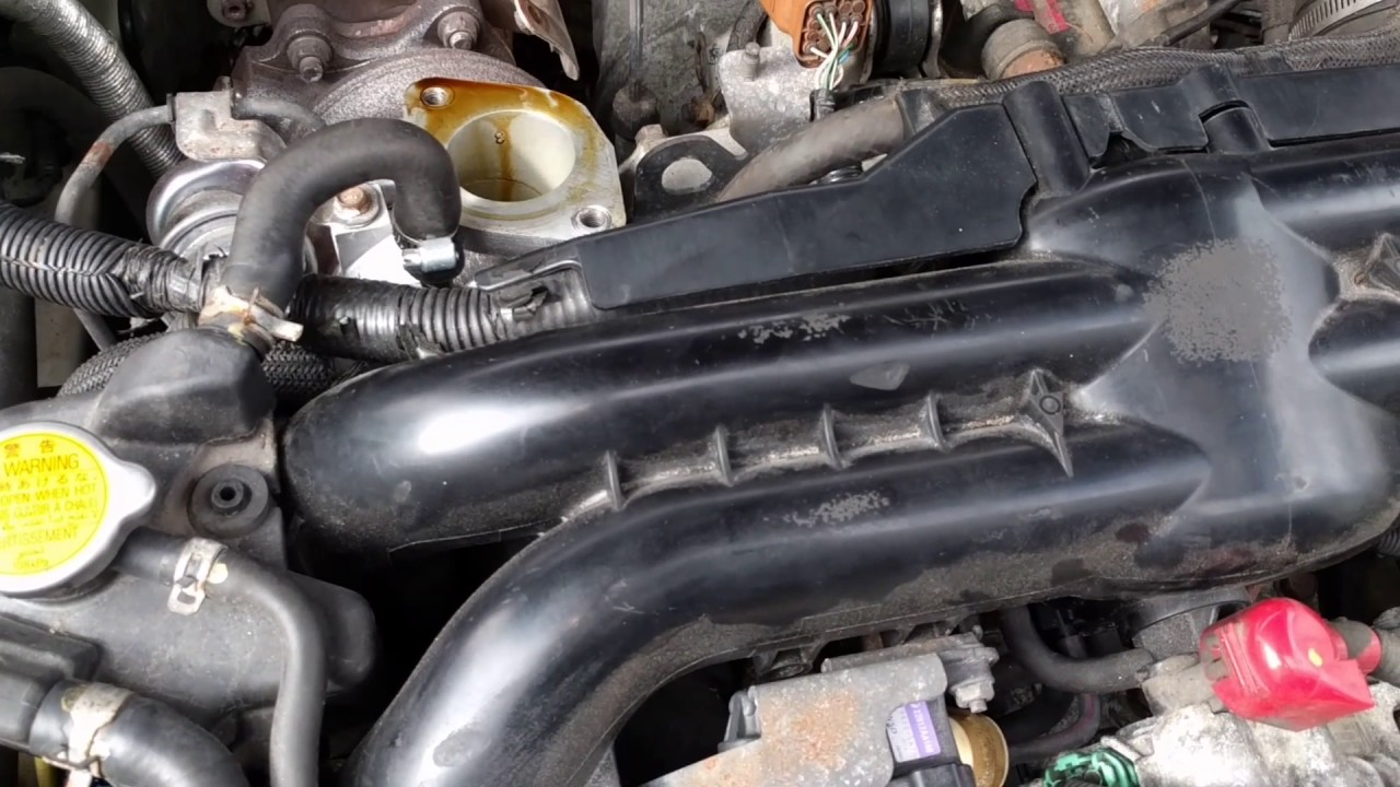 2005 outback xt tear in turbo air intake hose [ 1280 x 720 Pixel ]