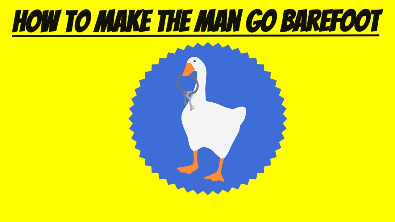 foto de Untitled Goose Game How To Make The Man Go Barefoot (Quicktips ...