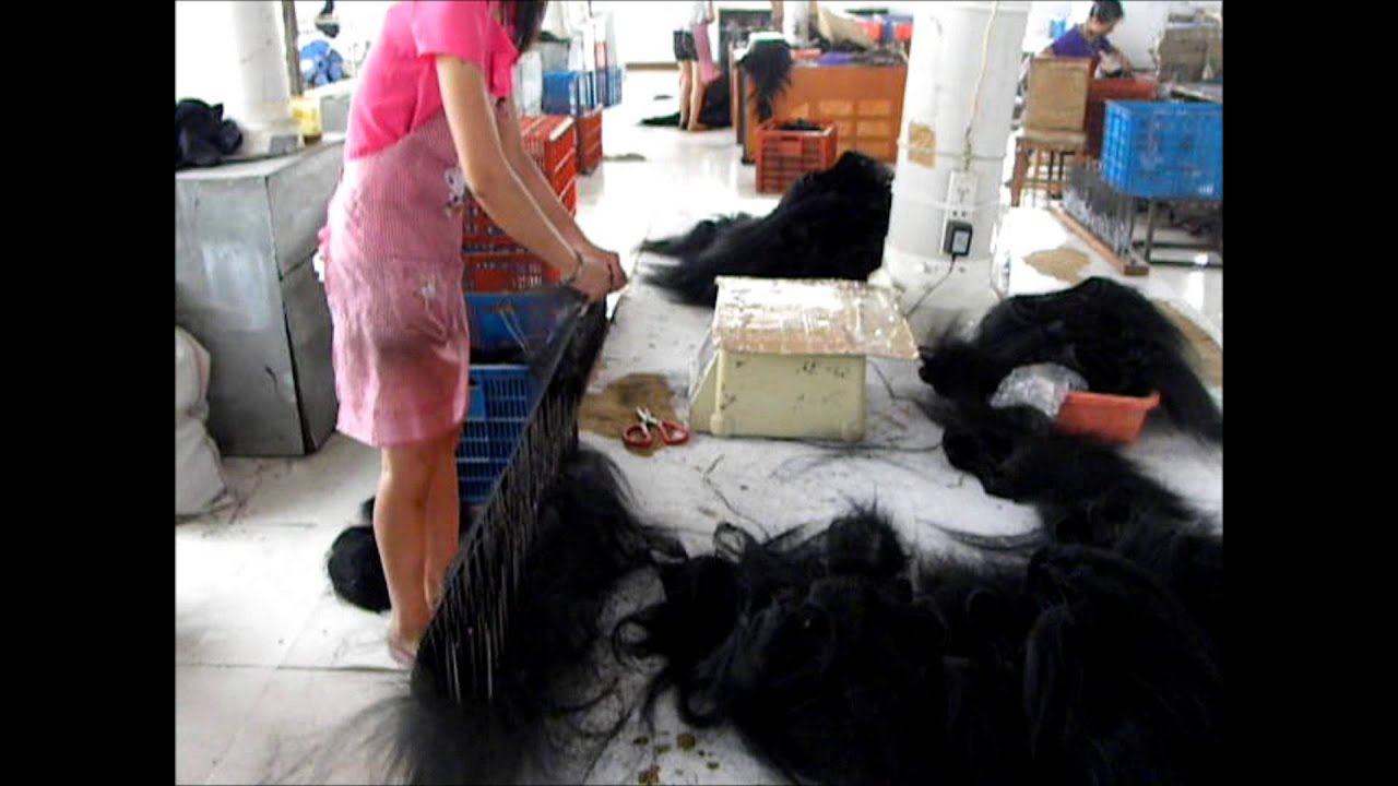 Hair Factory In China YouTube