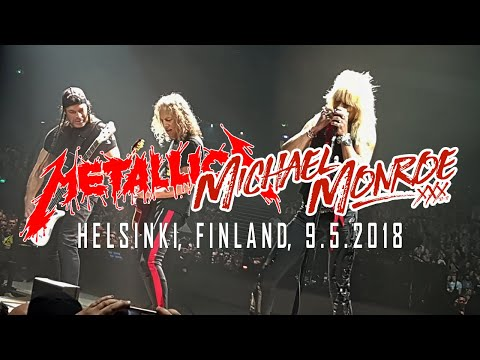 Metallica and Michael Monroe: Dead, Jail or Rock 'N Roll