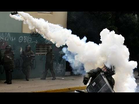 Epic Israeli Police Tear Gas Fail