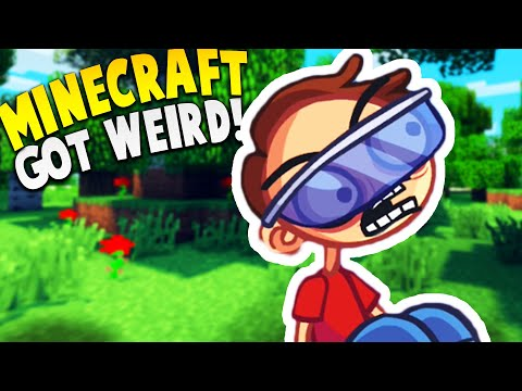 MINECRAFT GOT VERY VERY WEIRD... | Trollface Quest Video Games Mobile Gameplay