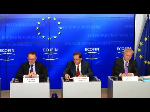 Meeting of the ECOFIN Council, Luxembourg 20.06.2014 - Press Conference
