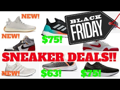 TOP SNEAKER DEALS FOR BLACK FRIDAY 2018!