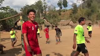 Preh Soe Leh F.C vs Section 10 F.C soccer  tournament 2020